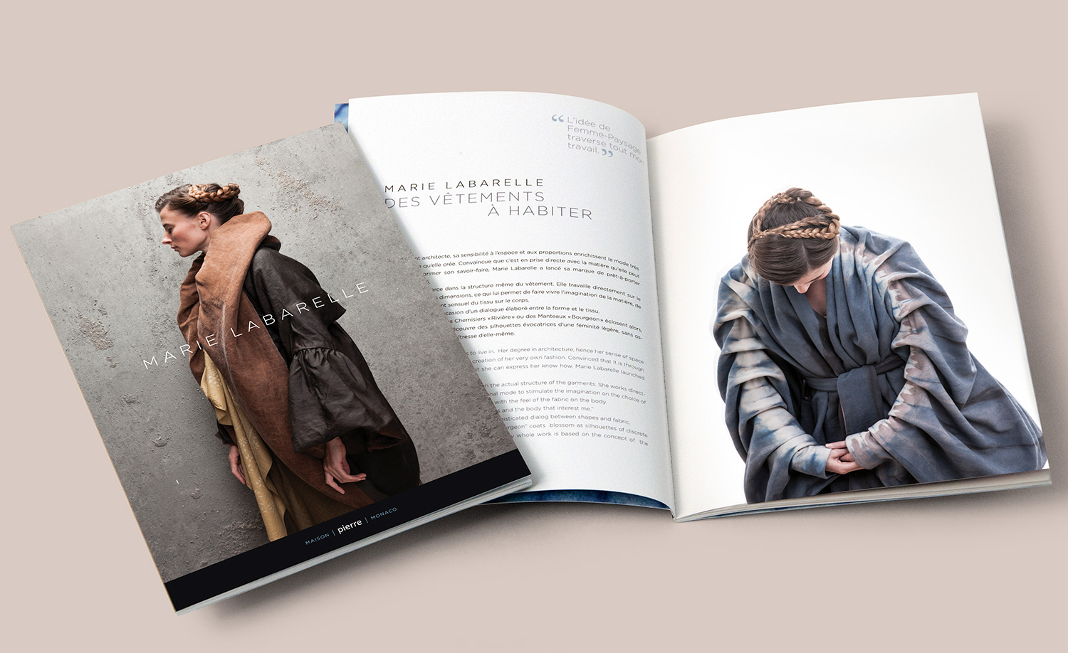 Graphisme et éditions de catalogue styliste
