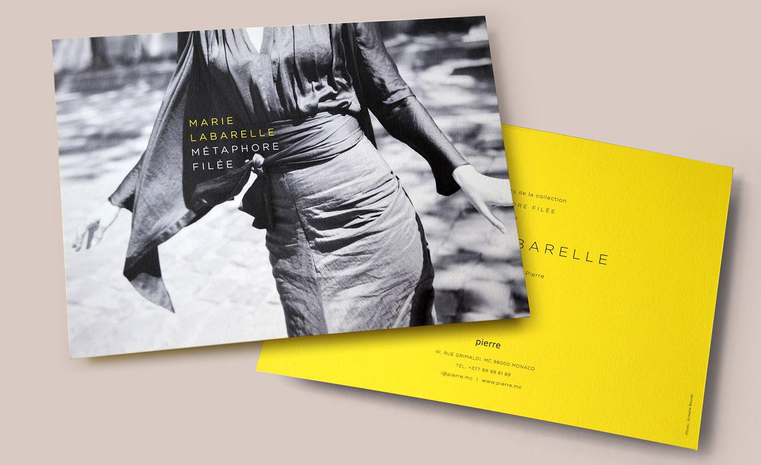 Design invitation styliste